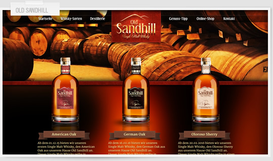 8geber - Old Sandhill Whisky
